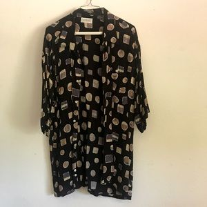 LAST CHANCE Vintage geometric print t shirt